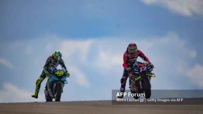 Jadwal MotoGP 2021 San Marino, Rossi Menilai Perkembangan Vinales di Aprilia Positif