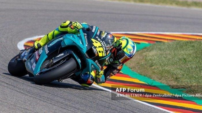 Jadwal MotoGP2021Styria,Valentino Rossi Duga Inovasi Petronas Yamaha SRT untuk Penurunan Bobot