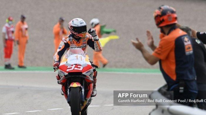 Jadwal MotoGP 2021 Styria, Hasrat Balapan Marquez Kalahkan Rasa Nyeri di Lengan