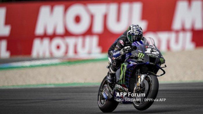 Jadwal MotoGP Styria 2021, Fabio Quartararo Jadi Beban Psikologi Maverick Vinales