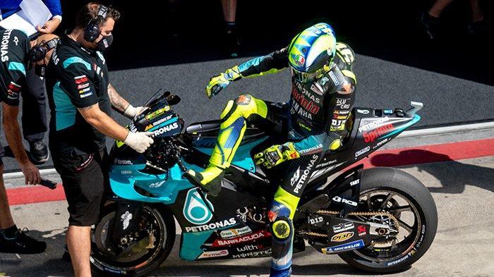 JADWAL MotoGP 2021 San Marino, Kata Valentino Rossi Lihat Maverick Vinales di Aprilia