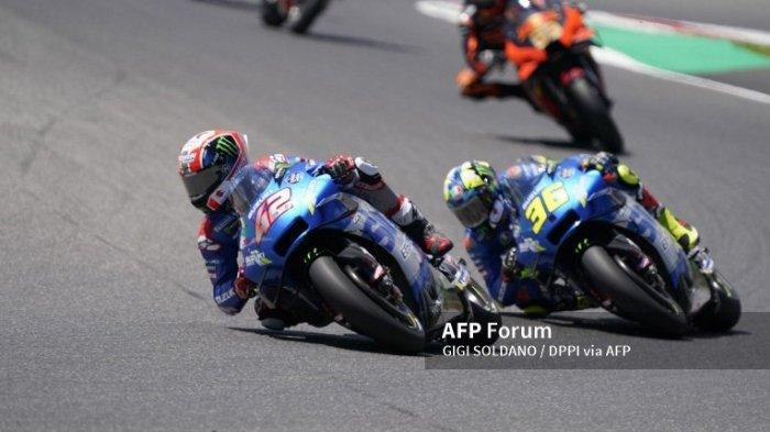 Ilustrasi. Simak jadwal MotoGP Styria 2021. Shinichi Sahara, pemimpin proyek Suzuki di MotoGP, memastikan pabrikan Hamamatsu tak pernah terobsesi untuk mempertahankan gelar. Karena itu para rider seperti Joan Mir dan Alex Rins, tidak merasa tertekan.