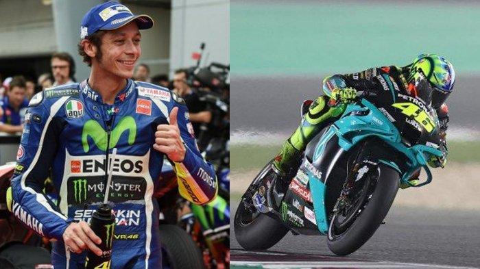Jadwal MotoGP 2021, Valentino Rossi Tampil Bagus di Tengah Cuaca Esktrem