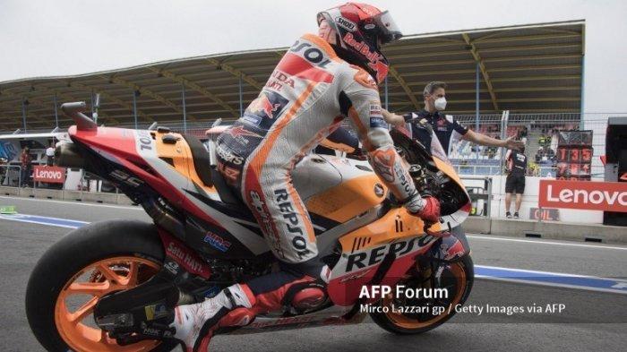 JADWAL MotoGP 2021 Styria, Marquez Tingkatkan Intensitas Latihan saat Jeda Musim