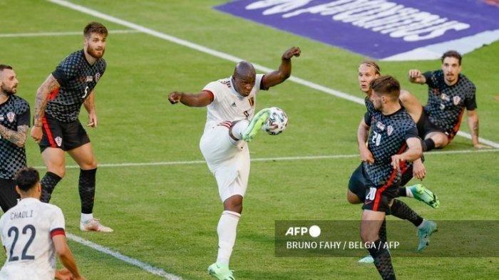 JELANG Jadwal Pembukaan Euro 2021, Gol Kungfu Soccer Romelu Lukaku saat Belgia vs Kroasia