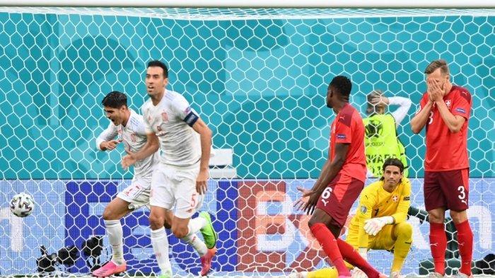 Ilustrasi. jadwal semifinal Euro 2020, head to head Italia Vs Spanyol