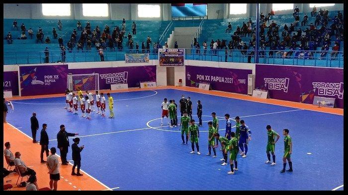 JADWAL Semifinal Futsal PON XX Papua 2021, Papua vs Jatim dan Jabar vs NTB