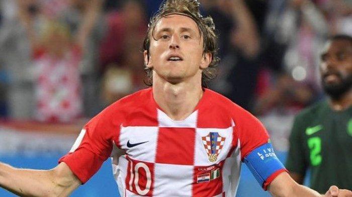 Ilustrasi, Jadwal Timnas Kroasia di Euro 2021 salah satu pemain Kroasia Luka Modric