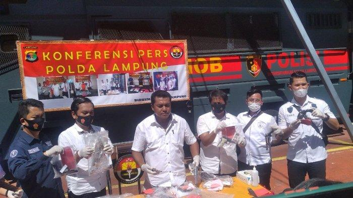 Gulung 124 Tersangka, Polda Lampung Tembak 41 Bandit