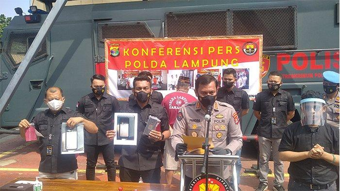 Polda Lampung Bakal Tahan Penyebar Video Hoaks Metro Pasca Jadi Tersangka