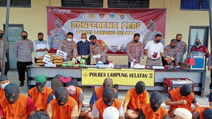 Polres Lampung Selatan Turut Amankan Pelaku Pencuri Kotak Amal yang Meresahkan Warga