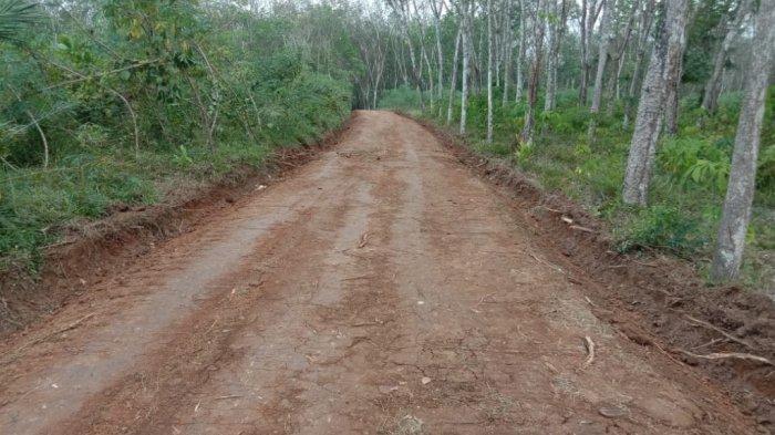 Program TMMD Kodim 0427/Way Kanan Lampung, Dua Dusun di Desa Sidorejo Kini Miliki Jalan Penghubung