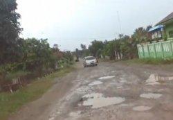 Dishub Lampung Tengah Akan Pasang Rambu di Jalan-jalan Rusak