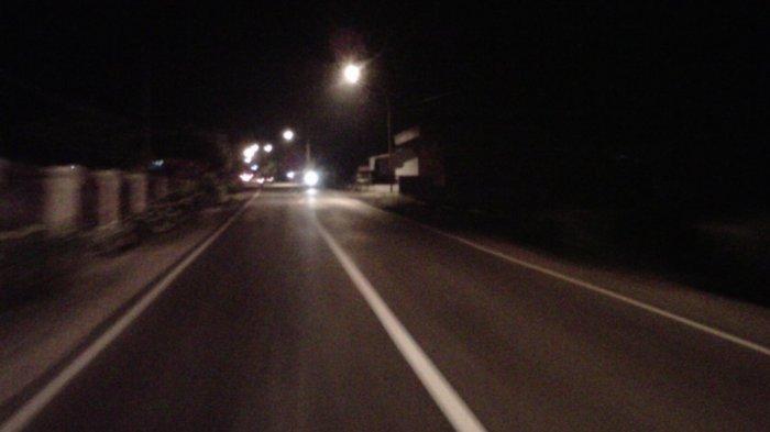 Malam Tahun Baru, Arus Lalin di Jalinbar Ruas Tanggamus Normal