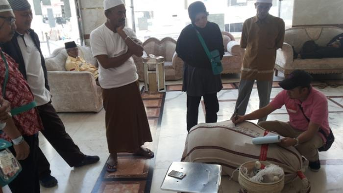 Jamaah Haji Berupaya