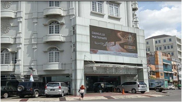 Hotel di Jalan Lingkaran Palembang tempat korban Yuliana MS ditemukan tewas, Selasa (5/1/2021) malam.
