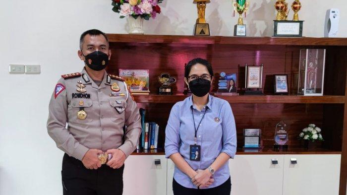 Dirlantas Polda Lampung Kunjungi Jasa Raharja