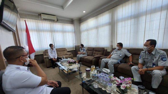Jasa Raharja Lampung Kunjungi Bapenda Lampung