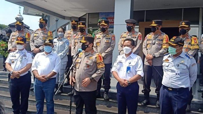Kacab Jasa Raharja Lampung Sambut Kunker Wakapolri di Provinsi Lampung