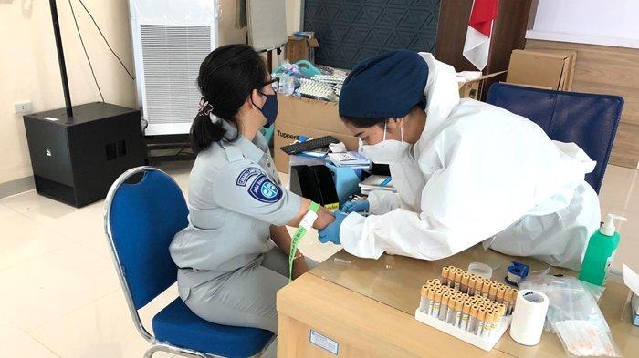 Jasa Raharja Lampung Kembali Lakukan Rapid Test