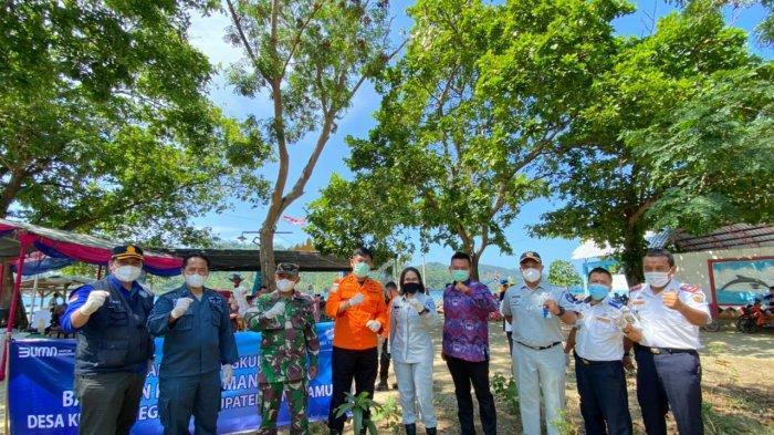 Jasa Raharja Lampung dan Dishub Lampung Edukasi Masyarakat Teluk Kiluan