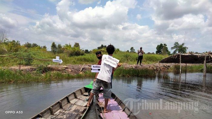 Jasad Korban Pembunuhan di Tulangbawang Ditemukan di Perairan Kepulauan Seribu