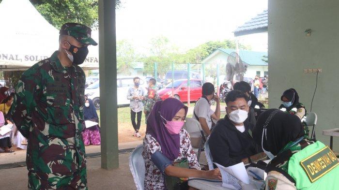 Romas Herlandes Buka Kegiatan Vaksinasi Covid 19 untuk Warga di Makodim