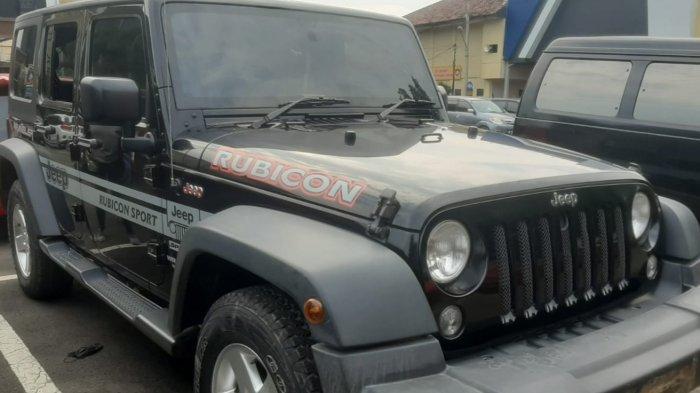 Pencuri Rp 200 Juta di Mobil Rubicon Tunggangi Motor dari Arah Rajabasa Bandar Lampung