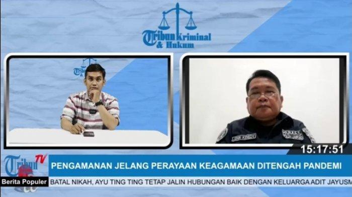 Jelang Ibadah Jumat Agung, Polda Lampung Tingkatkan Keamanan