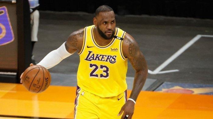 Jelang Jadwal NBA 2021, LeBron James Gelar Pemusatan Latihan Mini di Las Vegas