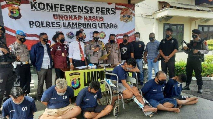 Jelang Lebaran Polres Lampung Utara Ringkus Pelaku 3C Lintas Provinsi, 3 Pelaku Diberi Timah Panas