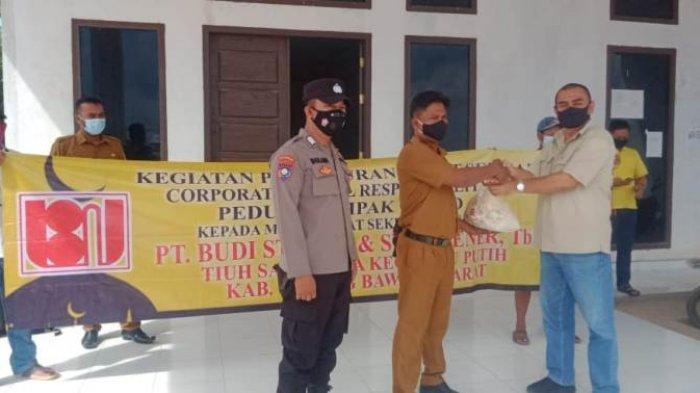 Jelang Lebaran, PT BSSW Sakti Jaya Bagikan 2.500 Paket Sembako Kepada Masyarakat