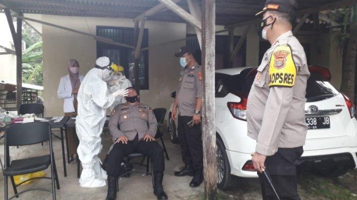 Pamatwil Polda Lampung Pantau Pilkakam Di Way Kanan