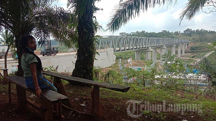 Inilah Jembatan Terpanjang di Lampung, Ada di Bendungan Way Sekampung yang Diresmikan Jokowi