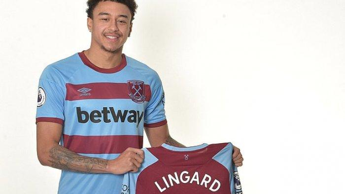 Jesse Lingard Bergabung dengan West Ham United