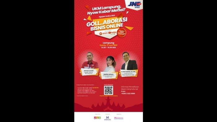 JNE Ngajak Online dan Kirim Gratis di HUT Kota Bandar Lampung Ke 339