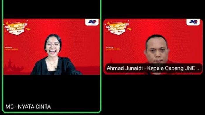 JNE Lampung Siap Kolaborasi dengan Pelaku UMKM