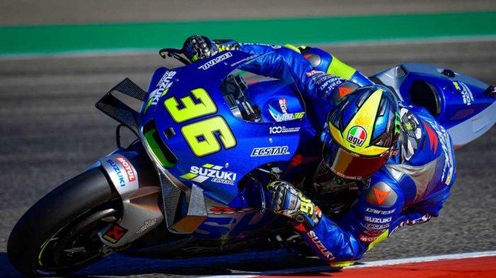 Hasil Latihan Bebas FP2 MotoGP Valencia 2020, Joan Mir Alami Insiden Tikungan
