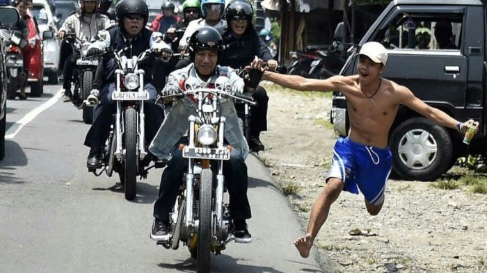 Benarkah Jokowi Punya Keistimewaan Tidak Nyalakan Lampu Motor? Ini Kata UU LLAJ