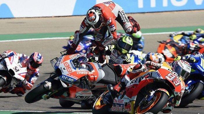 Live Streaming TV Online MotoGP Aragon 2019 Trans7 Tayang Mulai Pukul 17.00 WIB