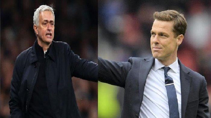 Bos Tottenham Hotspur Jose Mourinho dan Bos Fulham Scott Parker