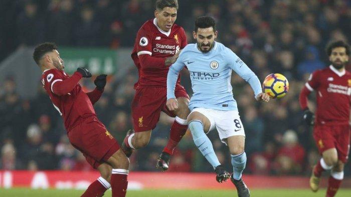 Link Live Streaming Liverpool vs Man City, Skuad Guardiola Dibayangi Rekor Buruk di Anfiled