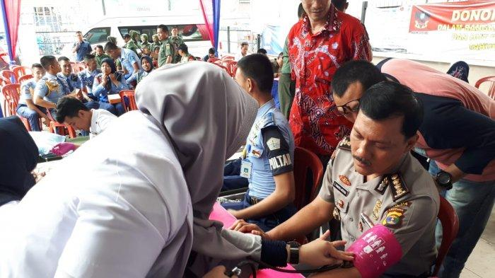 Luar Biasa, Kabid Humas Polda Lampung Sudah 110 Kali Donor Darah