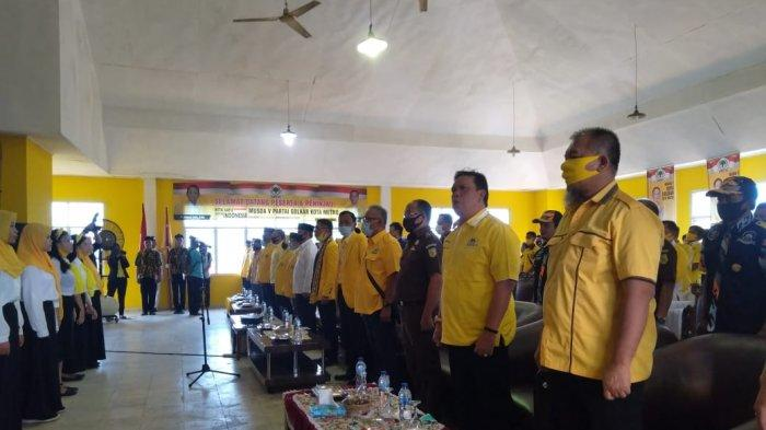 Kader Partai Golkar Kota Metro Wajib Menangkan Calon yang Diusung saat Pilkada Serentak 2020