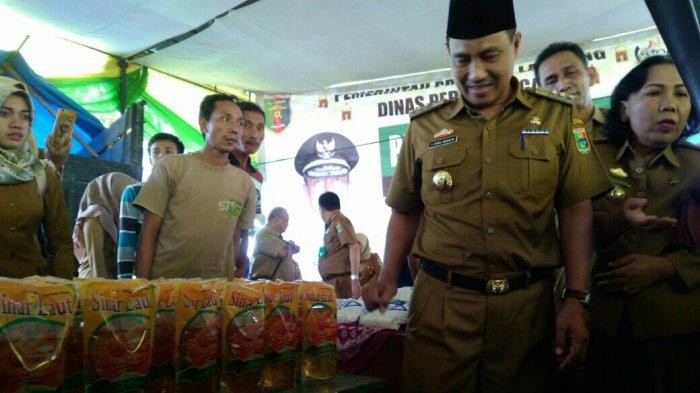 Disdag Lampung Jual 6 Sembako Murah di Kota Agung Timur