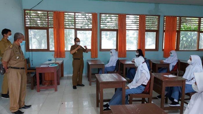 951 Sekolah di Tanggamus Lampung Diizinkan PTM