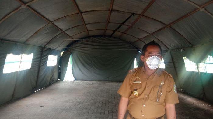 Tenda Darurat di RSUD Pringsewu Dibuat Senyaman Mungkin untuk Pasien