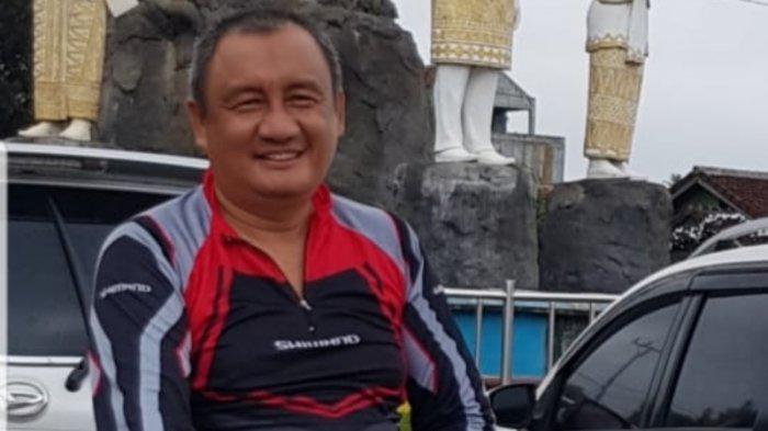 Kadispora Bandar Lampung Ariyawan Sempatkan Bersepeda di Akhir Pekan