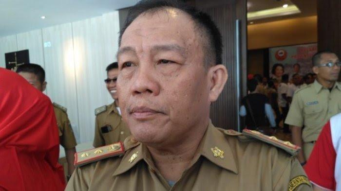 Kadispora Lampung Hannibal Terpapar Covid-19