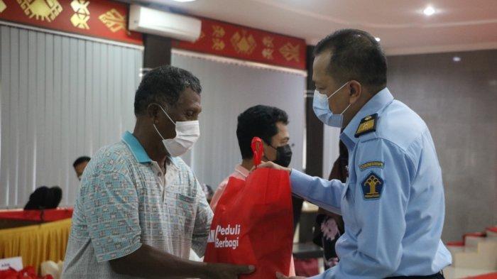 Kanwil Kemenkumham Lampung Distribusikan 880 Paket Ke Masyarakat Terdampak Covid-19